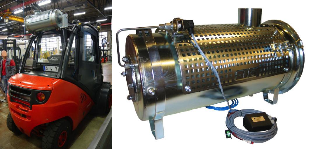 ERP Engineering Diesel Exhaust Filtration